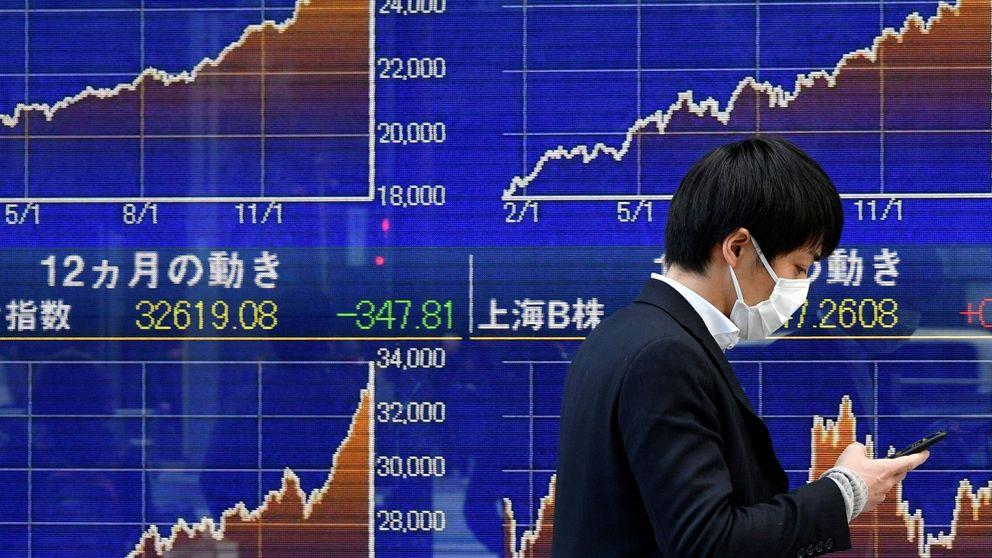 La bolsa de Tokio cae un 4,73% arrastrada por el desplome de Wall Street
