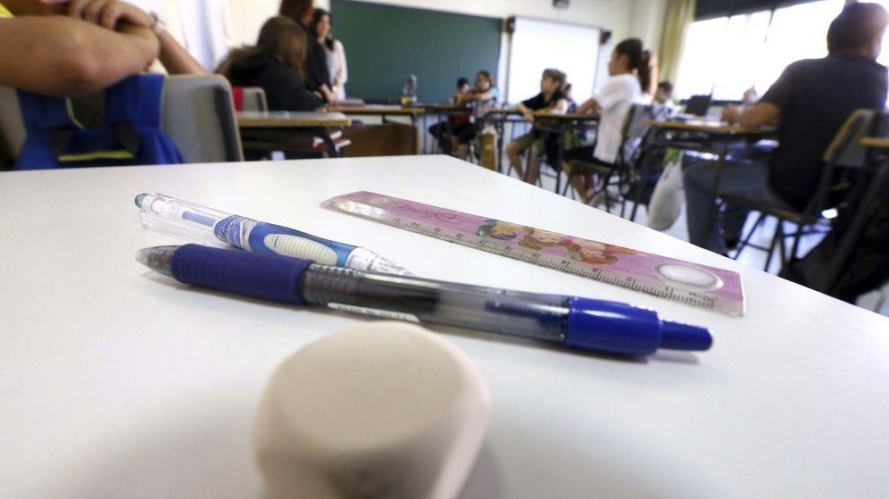 Foto: Un aula de un colegio madrileño. EFE
