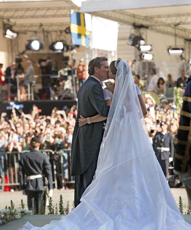 Foto:  El vestido de novia real más bonito de todos los tiempos. (Gtres)