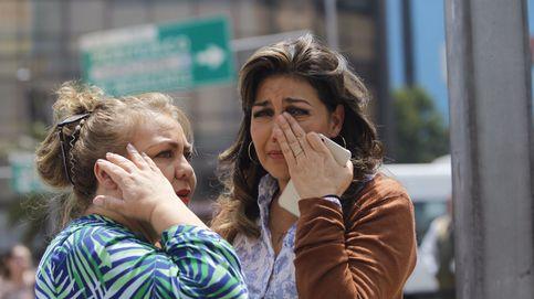 Una víctima del terremoto que ha sufrido  México: ha sido horrible