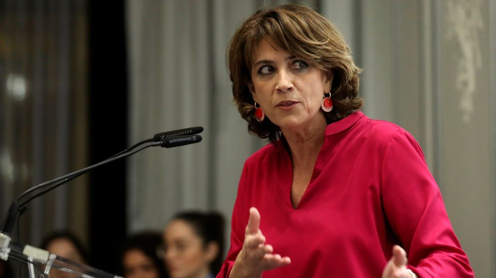 Foto: Dolores Delgado, durante una entrega de premios. (EFE)