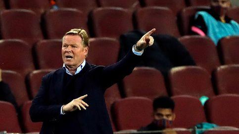 A Koeman le da igual la sanción por criticar a los árbitros y el VAR