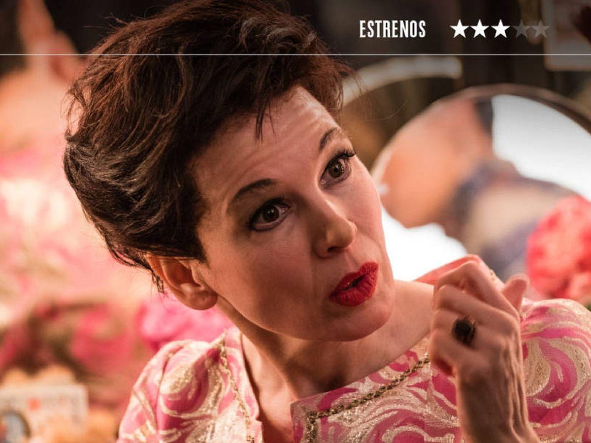 Foto: Renée Zellwegger se pone en la piel de Judy Garland. (Vértice)