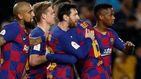 La primera victoria tranquila del Barcelona de Setién gracias a Leo Messi