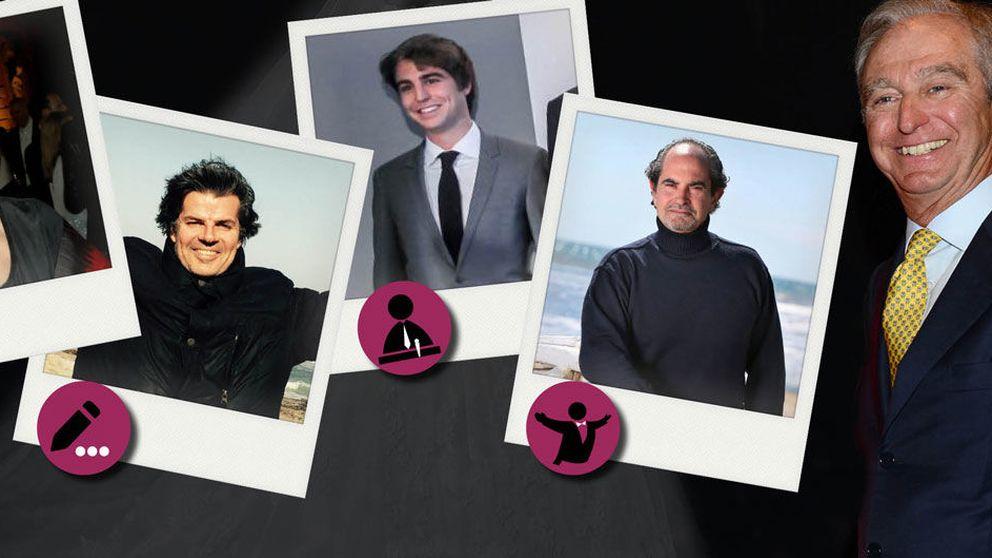 Los 'otros' Palatchi (Pronovias): tres artistas y un militante del PP