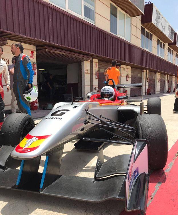 Foto: El monoplaza de Campos Racing en Albacete.
