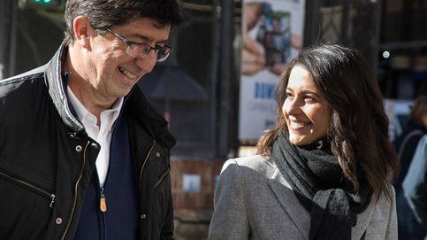 Juan Marín seguirá el recuento de las elecciones andaluzas con Rivera y Arrimadas