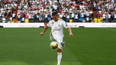 La presentación de Eden Hazard en directo: Jugar en el Real Madrid era mi sueño