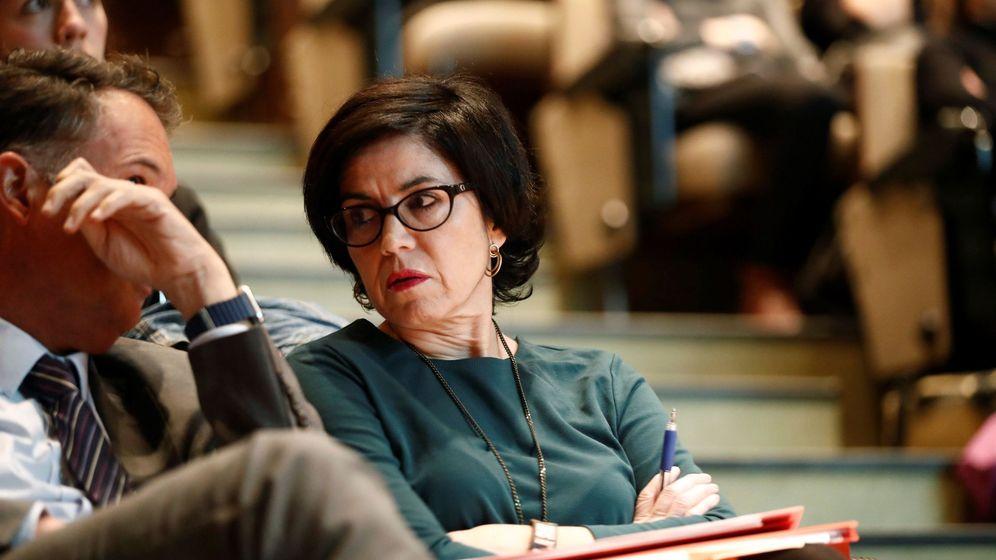 Foto: La magistrada Pilar de Lara, en Lugo. (EFE)