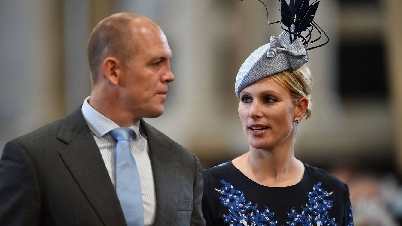 Foto: Zara Phillips y Mike Tindall (Gtres)