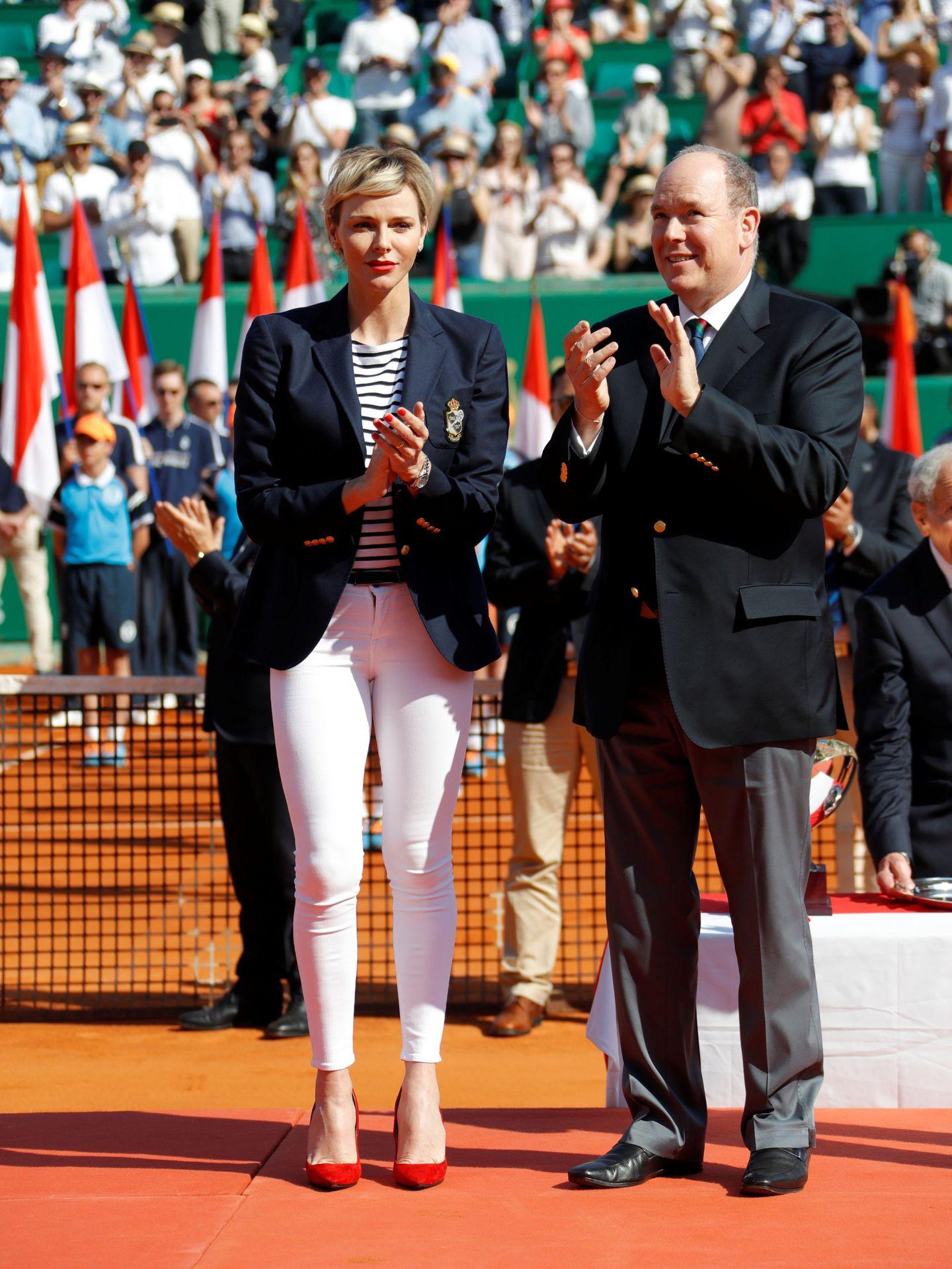 Charlène de Monaco y Alberto II. (REUTERS)