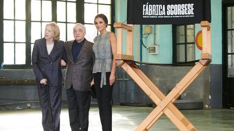 Letizia estrena un top de Zara de 25 euros para conocer a Martin Scorsese