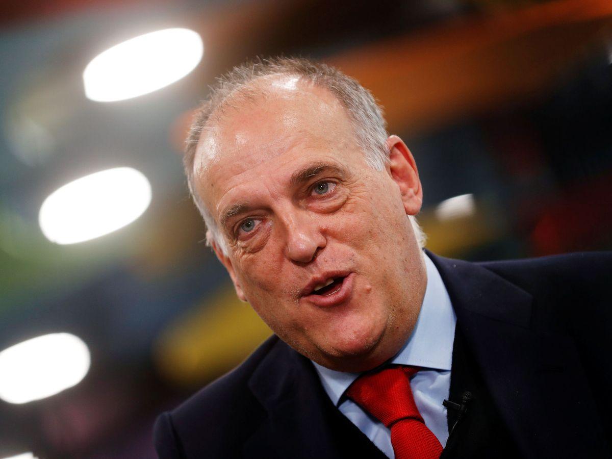 Foto: Javier Tebas, en una imagen de archivo. (Reuters)