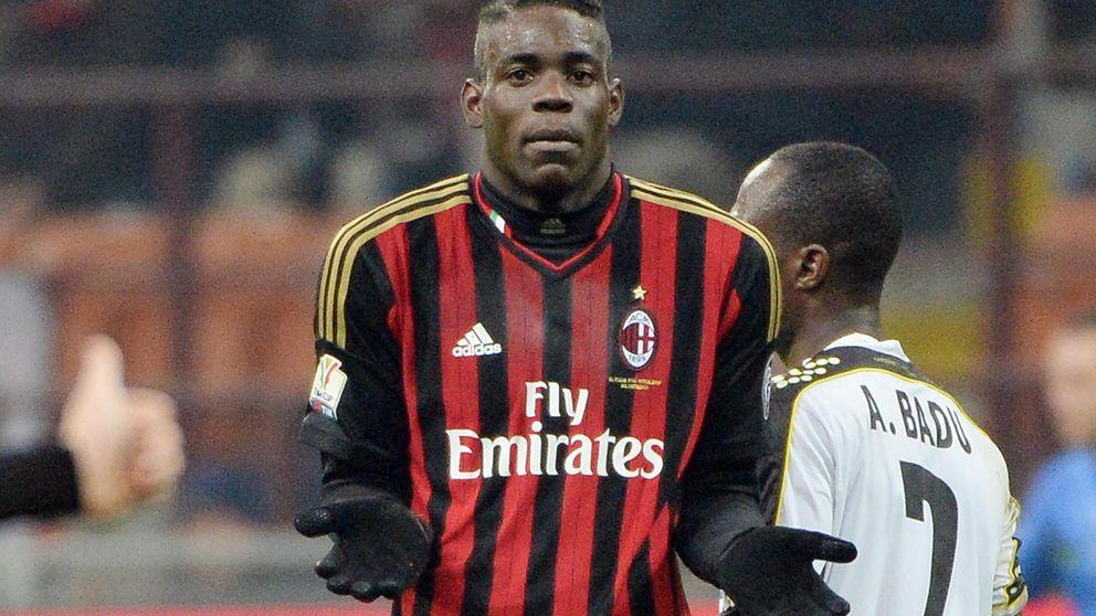 El refugio de Balotelli es el Milan, el único equipo donde fue importante