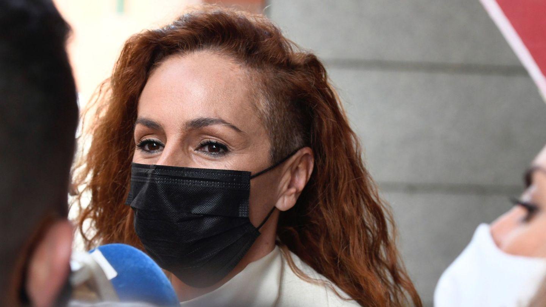 Rocío Carrasco, en su último juicio frente a Antonio David. (EFE)
