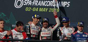 Post de La victoria más complicada de Alonso en su año perfecto: tres carreras, tres victorias
