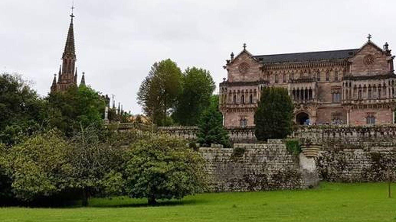 El palacio de Sobrellano, uno de los lujos de Comillas. (Turismo Comillas)