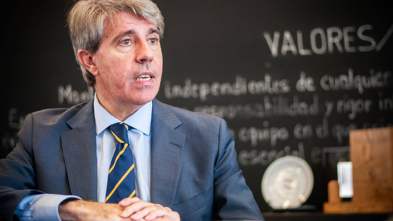 Foto: Ángel Garrido, presidente de la Comunidad de Madrid. (Carmen Castellón)