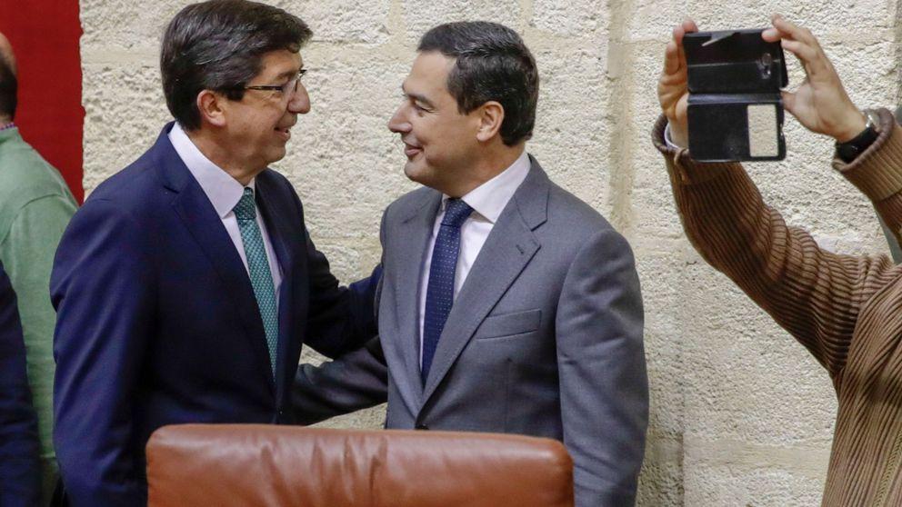 Cs quiere retener en Andalucía las consejerías clave de Educación y Sanidad
