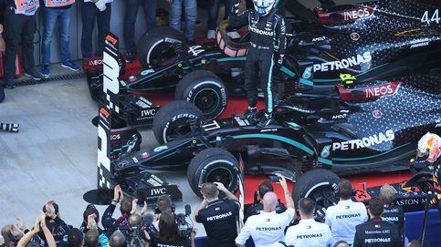 Fórmula 1: Bottas aprovecha la sanción a Hamilton y gana en Rusia con Sainz KO