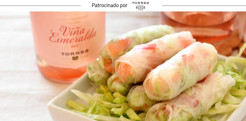 Foto: Rollitos de salmón (Mer Bonilla)