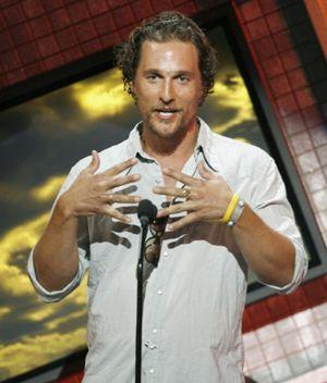 """Matthew McConaughey: """"Voy a tener un hijo"""""""