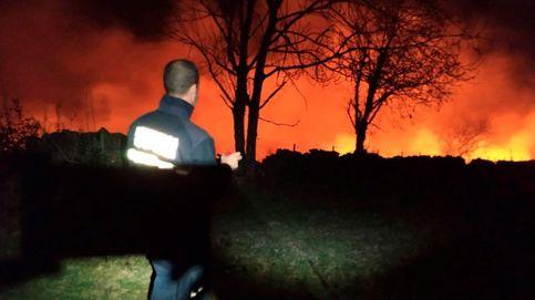 Medio centenar de incendios ponen en alerta Cantabria