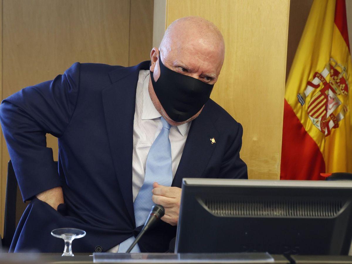 Foto: El comisario jubilado José Manuel Villarejo en una imagen de archivo del pasado mayo. (EFE)