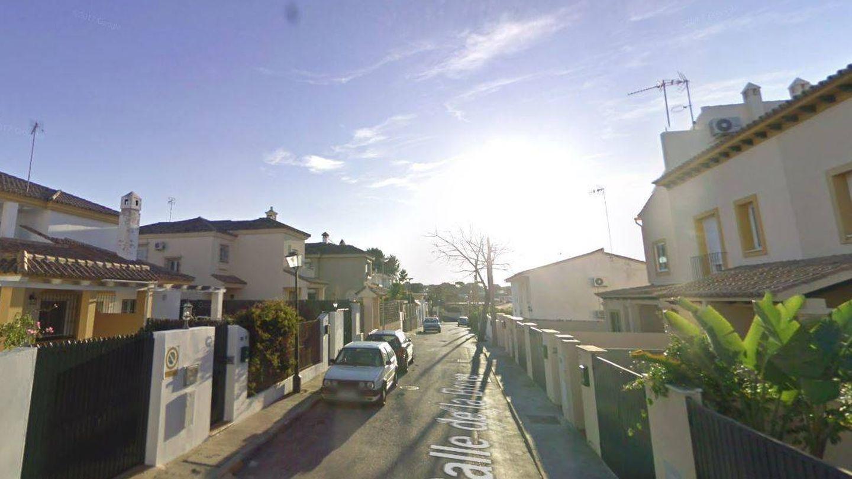 Vista de la calle donde tiene los inmuebles Gil Silgado en el Puerto de Santa María.