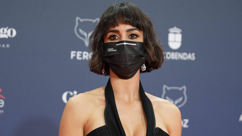 Megan Montaner, en los Premios Feroz. (Cordon Press)