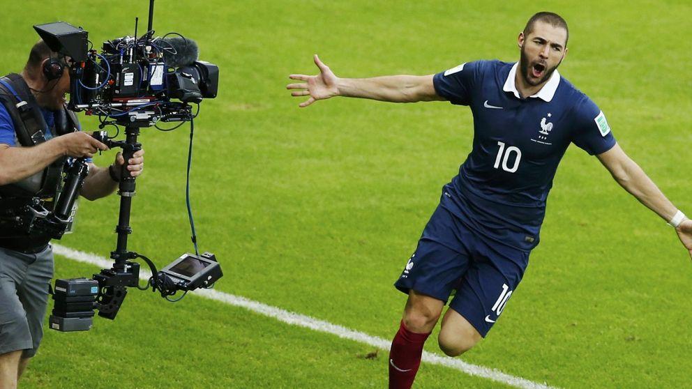 Benzema golea a Honduras en el partido que debutó el 'ojo de halcón'