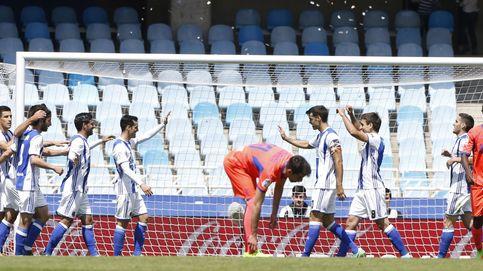 La Real Sociedad envía al Granada a Segunda división