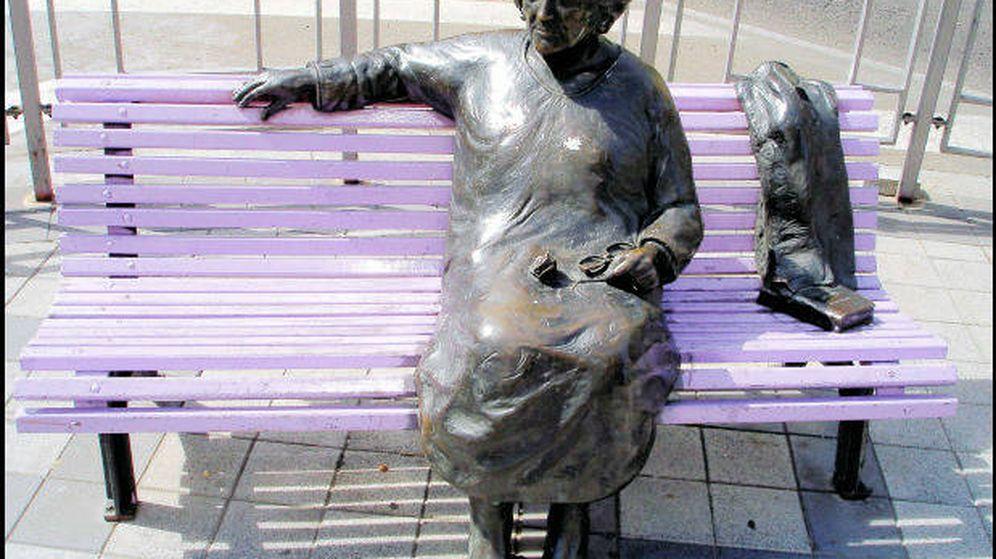 Foto: Estatua de Rosa Chacel en Valladolid