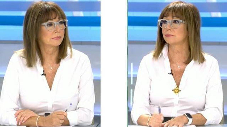 El nuevo look de Ana Rosa Quintana. (Telecinco)