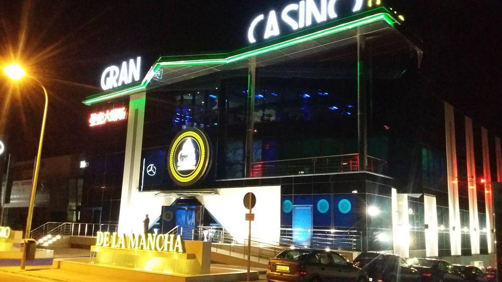Foto: Fachada del Gran Casino de La Mancha.