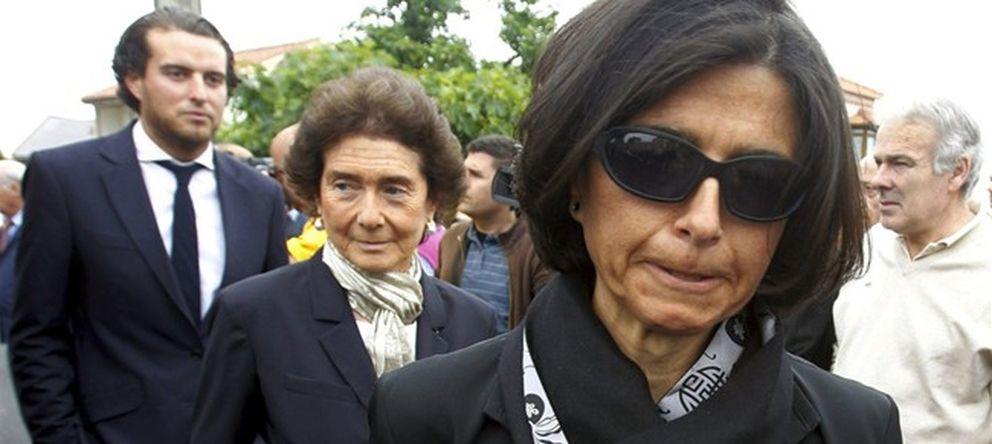 Foto: Paloma O'Shea junto a su hija Carmen Botín, en una imagen de archivo (EFE)