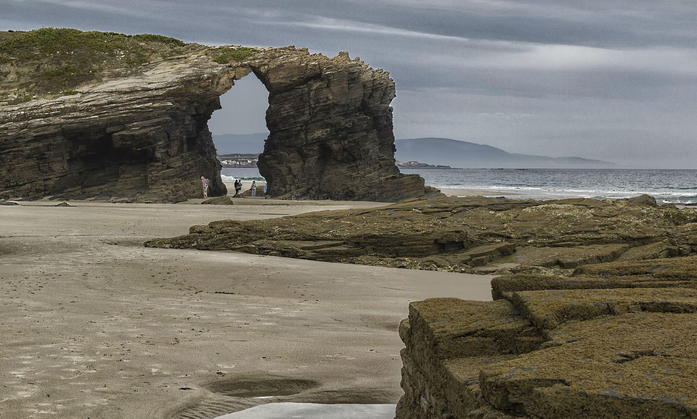 Foto: Playa de las Catedrales, Ribadeo (Lugo). Foto: Flickr/Lorenmart