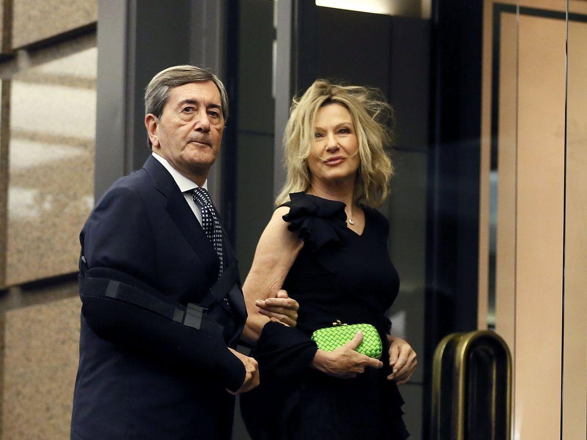 Foto: Alfonso Cortina y Miriam Lapique. (EFE)