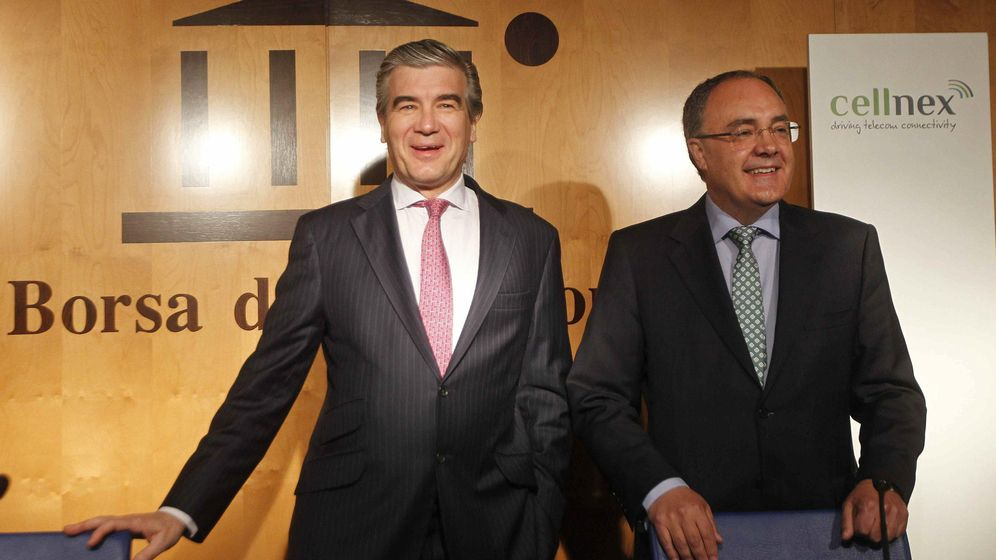 Foto: El CEO de Abertis y presidente de Cellmex Telecom, Francisco Reynés