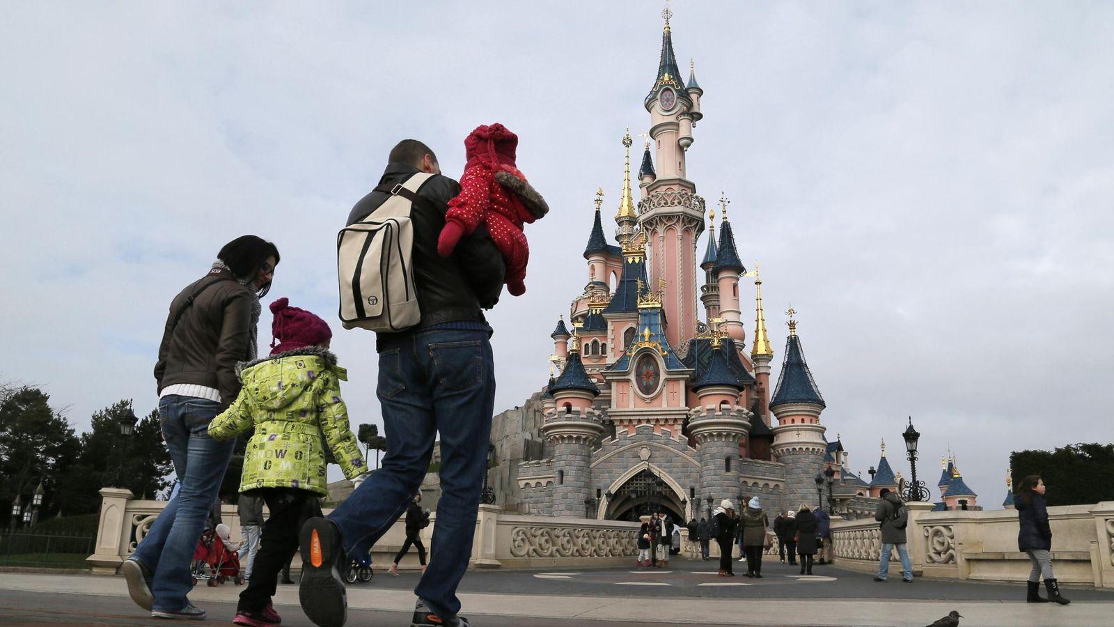 Foto: La entrada de Eurodisney París. (Reuters)