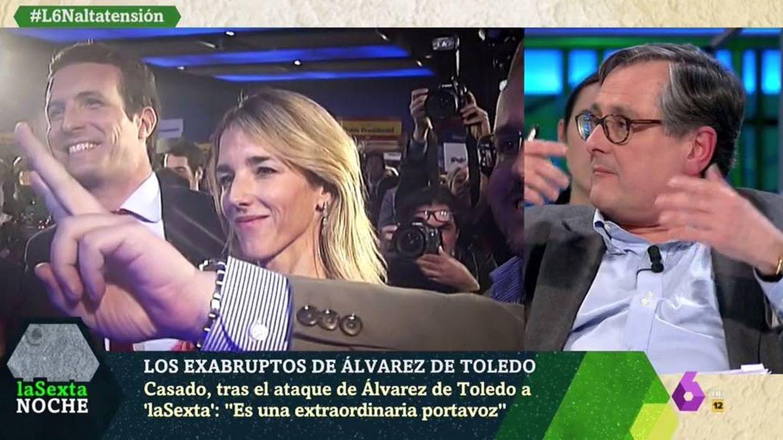 Marhuenda criticando a Cayetana. ('La Sexta noche').