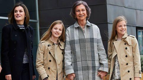 Esto es lo que costó (en clave fashion) la escena del perdón de Letizia y Sofía