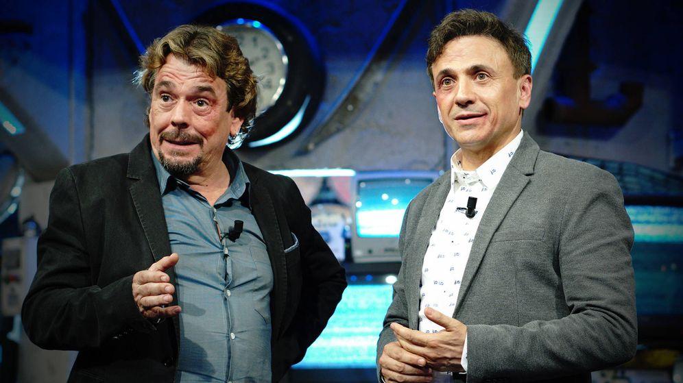 Foto: Juan Muñoz visita 'El acabose' en TVE.