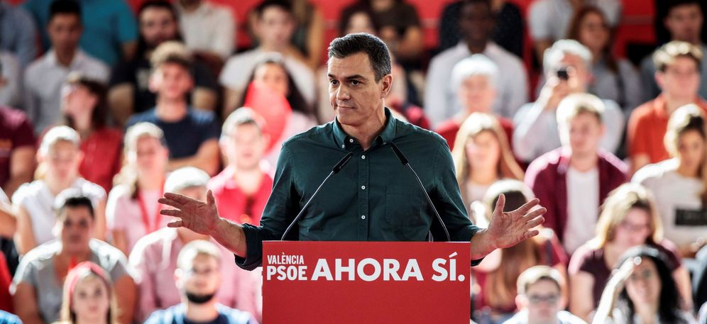 Foto: El secretario general del PSOE y presidente del Gobierno en funciones, Pedro Sánchez. (EFE)