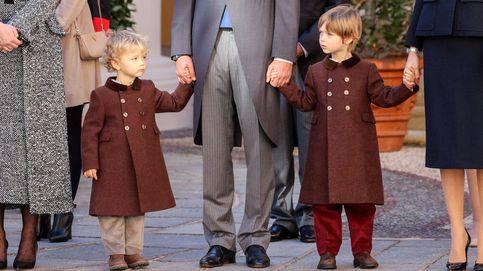 Stefano y Francesco, los hijos de Pierre Casiraghi y Beatrice Borromeo, dos 'principitos' muy formales