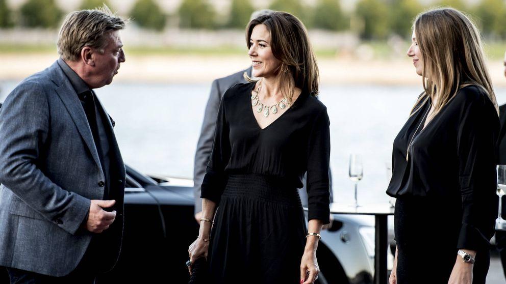 Mary de Dinamarca derrocha glamour en el Festival de TV de Copenhague