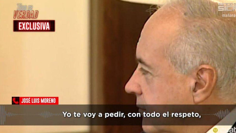 Imágenes de José Luis Moreno en 'Todo es verdad'. (Mediaset España)