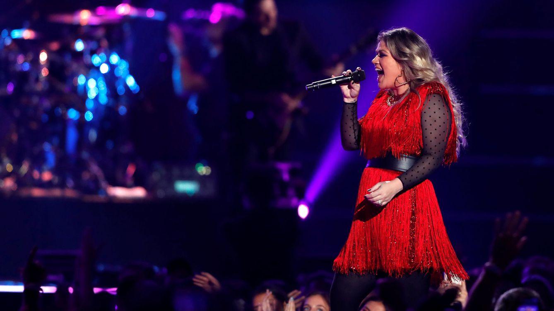 Foto: Kelly Clarkson en el iHeartRadio Music Festival en Las Vegas. (REUTERS)