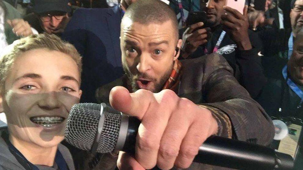 El niño viral que le robó protagonismo a Justin Timberlake en la Super Bowl 2018