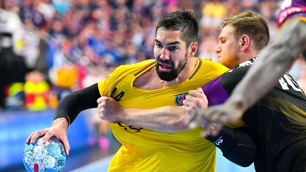 Foto: Nikola Karabatic, una de las muchas estrellas del PSG, en el partido de la Final Four contra el Nantes. (Imago)